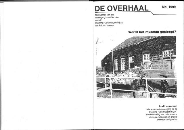 De Overhaal: historisch magazine Heerhugowaard 1999-05-01