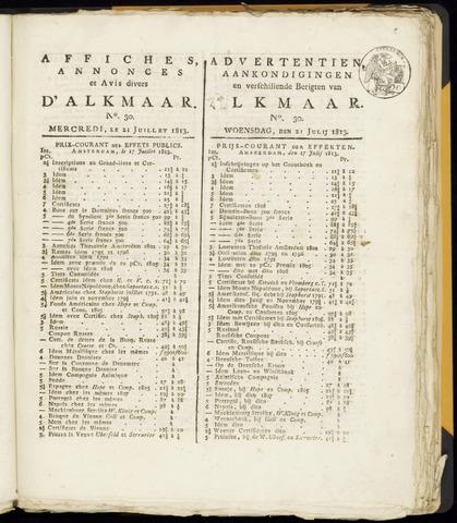 Alkmaarsche Courant 1813-07-21