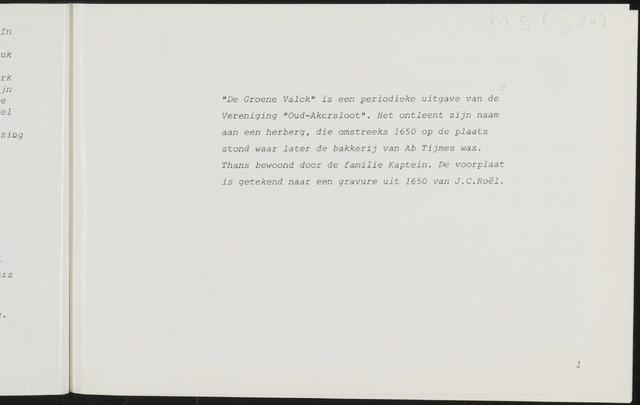 De Groene Valck 1984-05-01