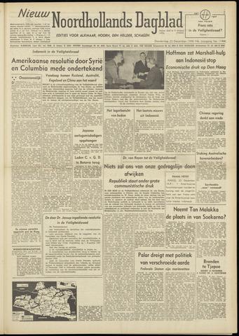 Nieuw Noordhollandsch Dagblad : voor Alkmaar en omgeving 1948-12-23