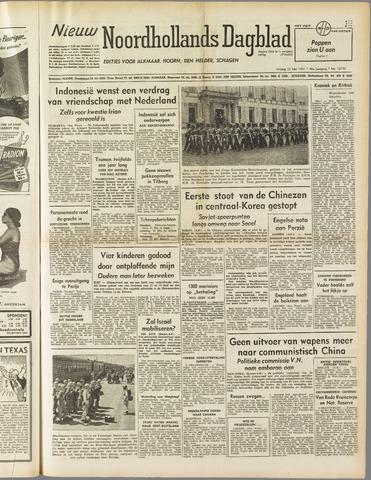 Nieuw Noordhollandsch Dagblad : voor Alkmaar en omgeving 1951-05-18
