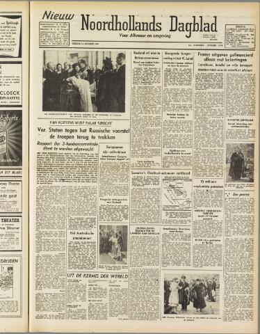 Nieuw Noordhollandsch Dagblad : voor Alkmaar en omgeving 1947-10-10