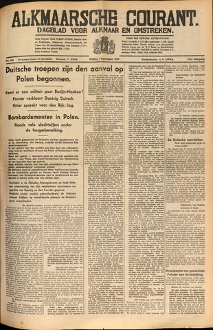 Alkmaarsche Courant 1939-09-01