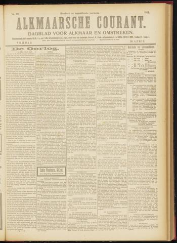 Alkmaarsche Courant 1917-04-20