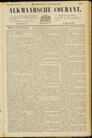 Alkmaarsche Courant 1898-03-04