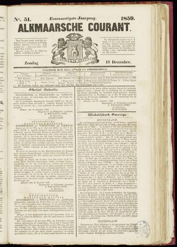 Alkmaarsche Courant 1859-12-18