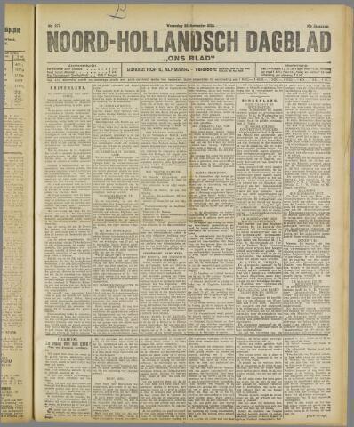 Ons Blad : katholiek nieuwsblad voor N-H 1922-11-22