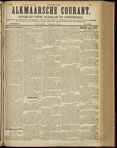 Alkmaarsche Courant 1928-04-26