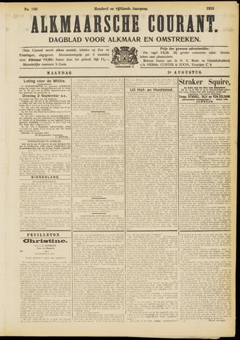 Alkmaarsche Courant 1913-08-18