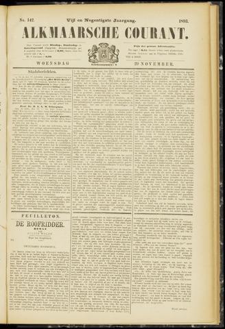 Alkmaarsche Courant 1893-11-29