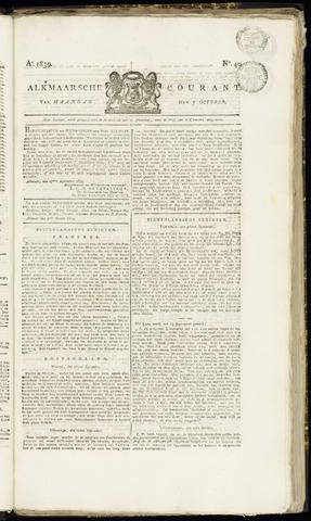 Alkmaarsche Courant 1839-10-07