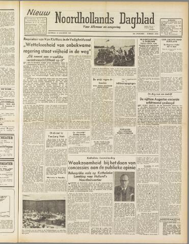 Nieuw Noordhollandsch Dagblad : voor Alkmaar en omgeving 1947-08-16