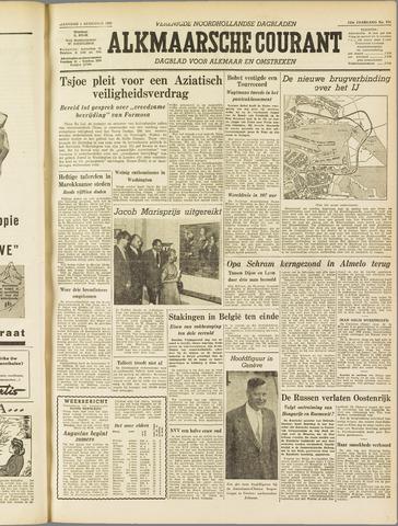 Alkmaarsche Courant 1955-08-01