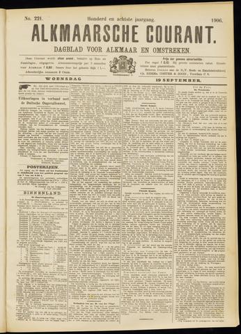 Alkmaarsche Courant 1906-09-19