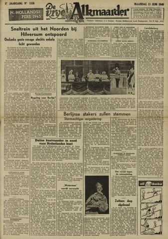De Vrije Alkmaarder 1949-06-13