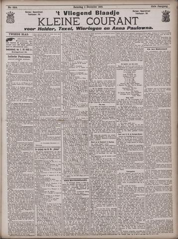 Vliegend blaadje : nieuws- en advertentiebode voor Den Helder 1903-12-05
