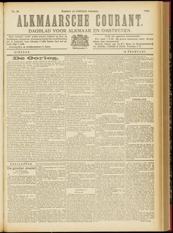 Alkmaarsche Courant 1918-02-12