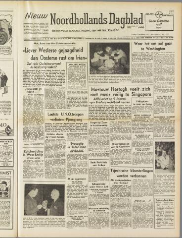 Nieuw Noordhollandsch Dagblad : voor Alkmaar en omgeving 1950-12-05