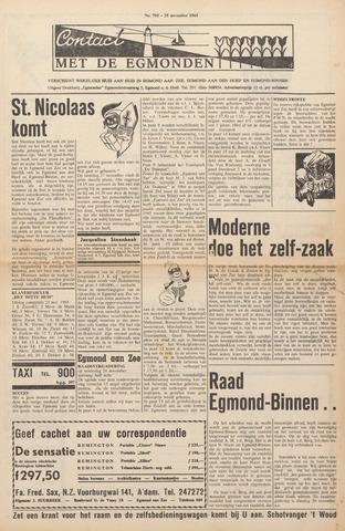Contact met de Egmonden 1965-11-25