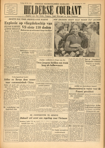Heldersche Courant 1954-05-28