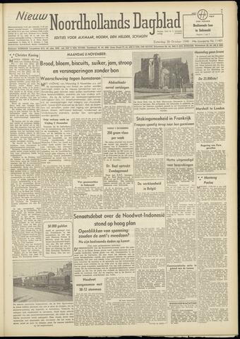 Nieuw Noordhollandsch Dagblad : voor Alkmaar en omgeving 1948-10-30