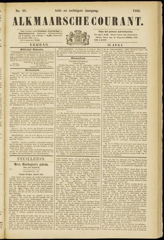 Alkmaarsche Courant 1886-07-23