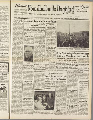 Nieuw Noordhollandsch Dagblad : voor Alkmaar en omgeving 1950-09-12