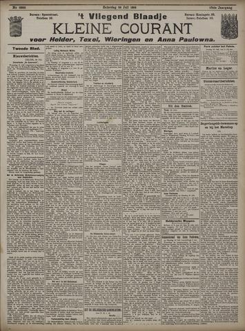 Vliegend blaadje : nieuws- en advertentiebode voor Den Helder 1909-07-24