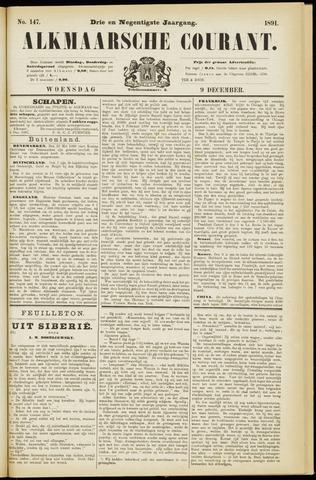 Alkmaarsche Courant 1891-12-09