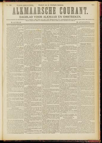 Alkmaarsche Courant 1919-08-25