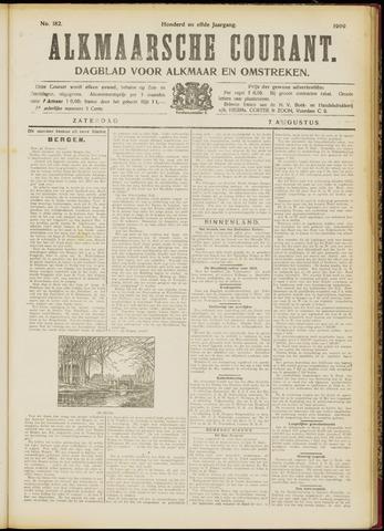 Alkmaarsche Courant 1909-08-07