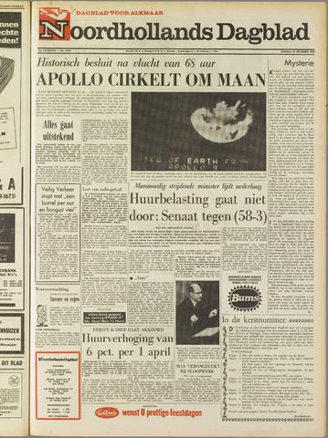 Noordhollands Dagblad : dagblad voor Alkmaar en omgeving 1968-12-24
