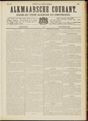 Alkmaarsche Courant 1910-02-15