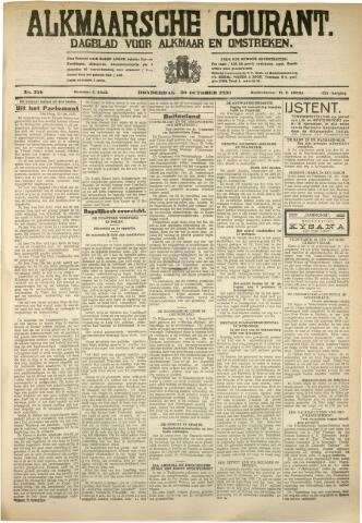 Alkmaarsche Courant 1930-10-30