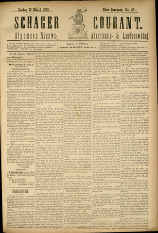 Schager Courant 1895-03-10