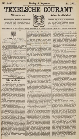 Texelsche Courant 1901-08-04