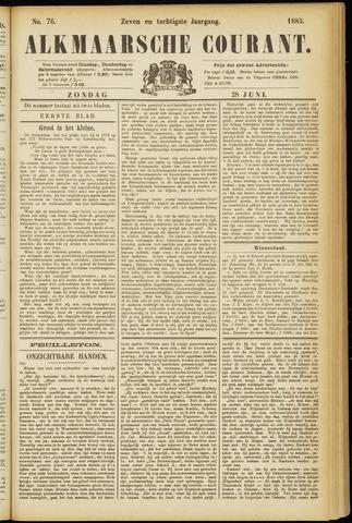 Alkmaarsche Courant 1885-06-28