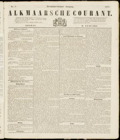 Alkmaarsche Courant 1875-01-31