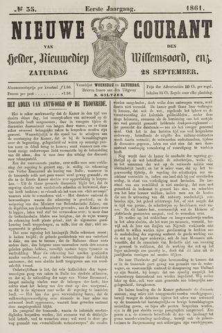 Nieuwe Courant van Den Helder 1861-09-28