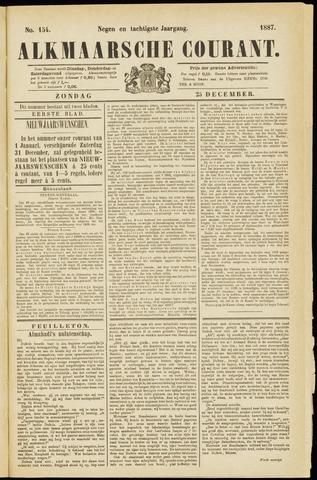 Alkmaarsche Courant 1887-12-25