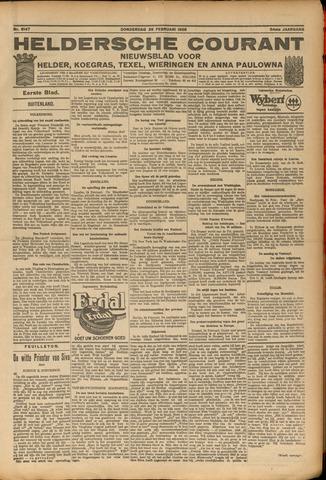 Heldersche Courant 1926-02-25