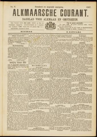 Alkmaarsche Courant 1907-01-08