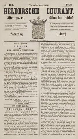 Heldersche Courant 1872-06-01