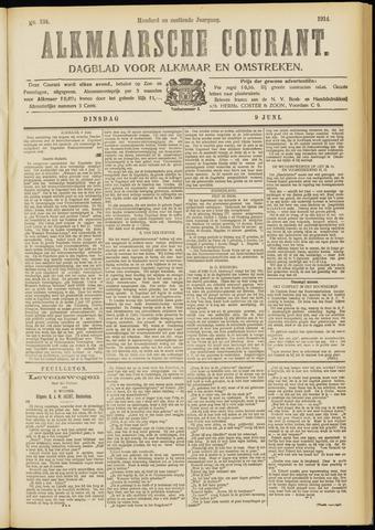 Alkmaarsche Courant 1914-06-09