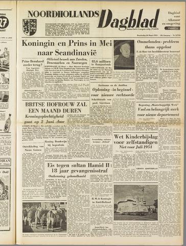 Noordhollands Dagblad : dagblad voor Alkmaar en omgeving 1953-03-26
