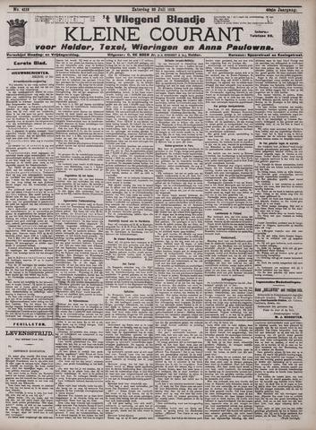 Vliegend blaadje : nieuws- en advertentiebode voor Den Helder 1912-07-20