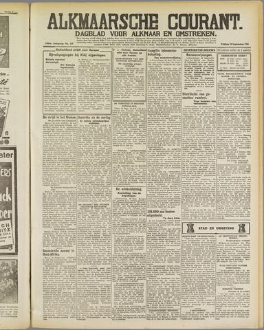 Alkmaarsche Courant 1941-09-26