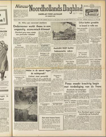 Nieuw Noordhollandsch Dagblad : voor Alkmaar en omgeving 1952-03-22