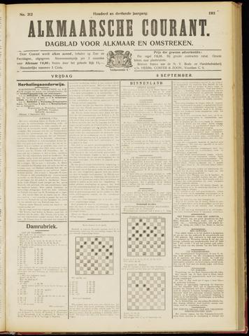 Alkmaarsche Courant 1911-09-08