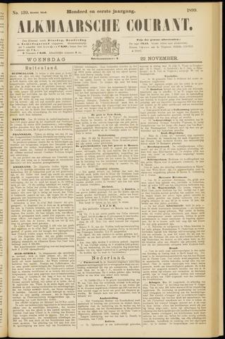 Alkmaarsche Courant 1899-11-22